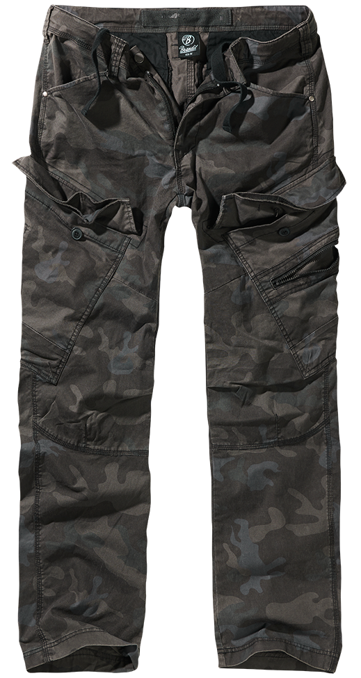 Kalhoty Adven Slim Fit - darkcamo